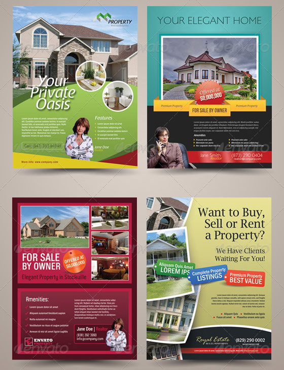 Premium Real-Estate Flyer Bundle