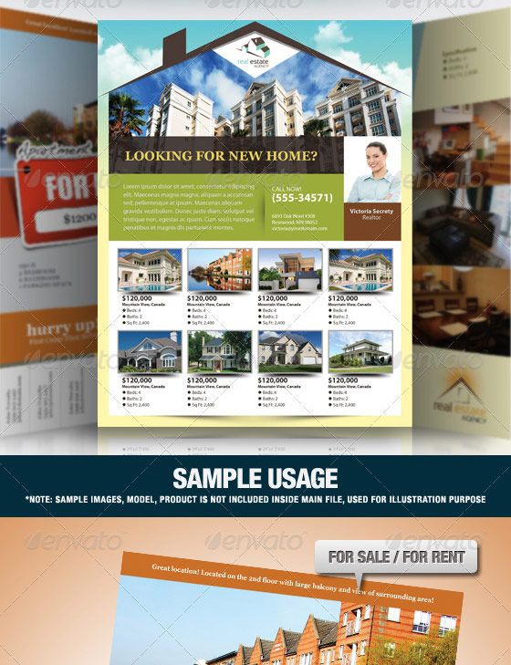 Elegant Real Estate Flyer