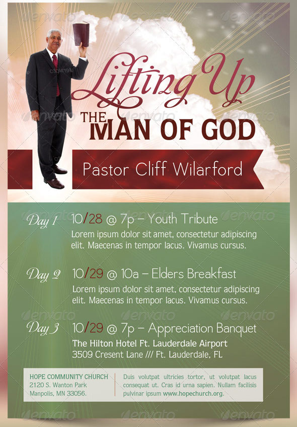 Pastor Anniversary Templates http://www.inspiks.com/beautiful-pastor-appreciation-month-flyer-templates/